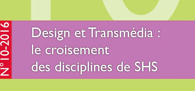 [Parution] RFSIC n° 10 – Design et transmédia